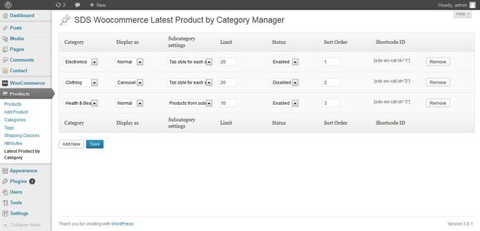 Smart Data Soft Woocommerce Category Instruction